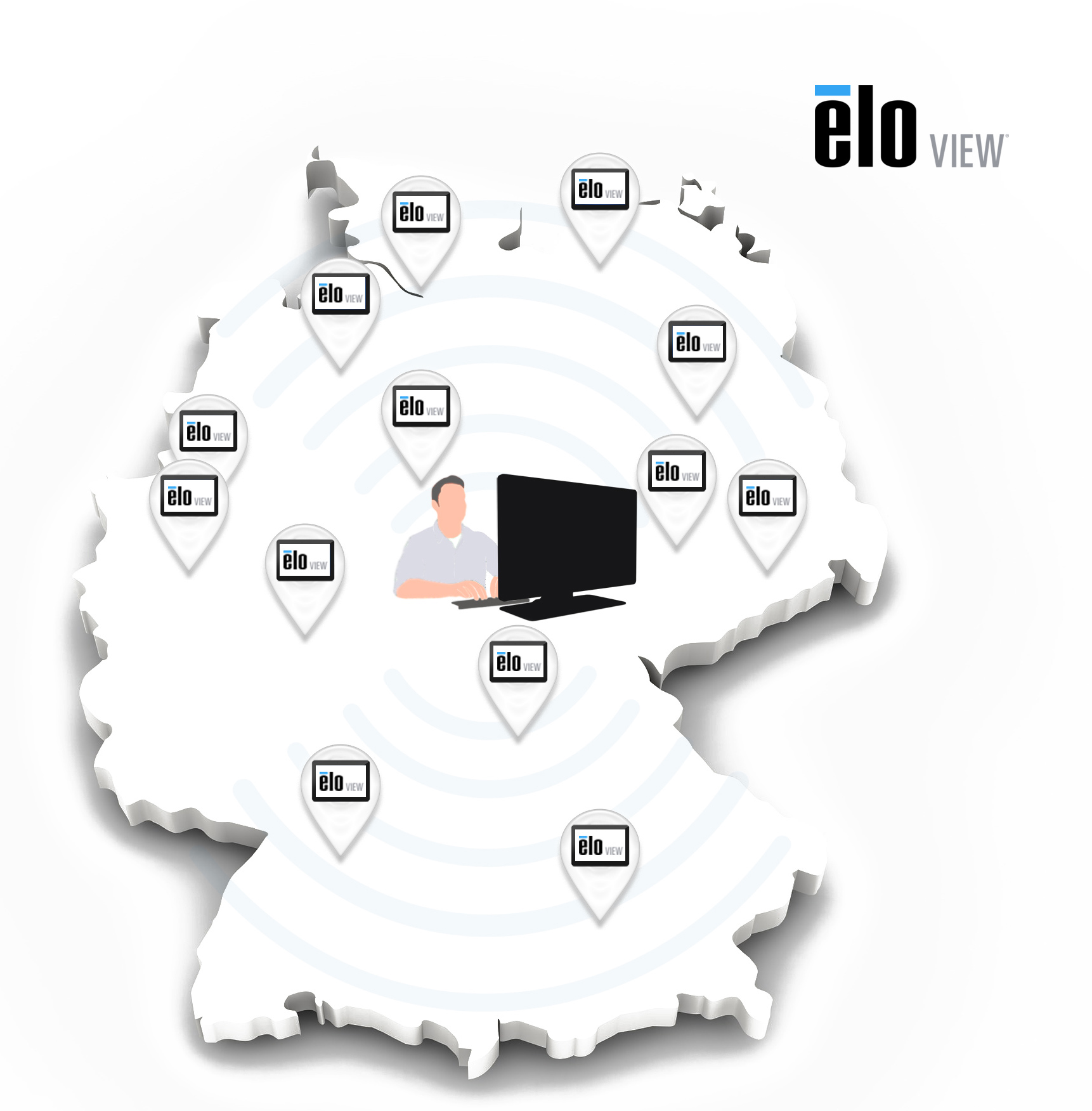 EloView Kiosk & Remote - Apps auf All-in-One Touch PC zeigen