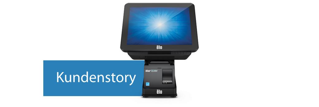 EloView Wallaby POS Stand 15i1 Elo Touchcomputer Star Drucker WES Systeme Electronic Kundenstory
