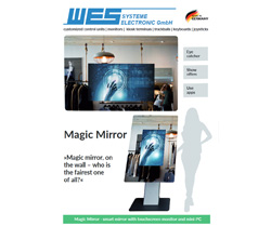 magic mirror smart mirror product teaser leaflet