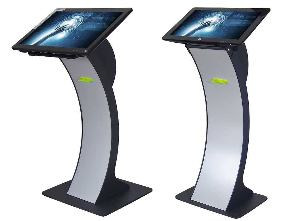 Standfuss easy pc stand Bondrucker 80mm große Papierrolle 22 27 Zoll Touchmonitor EASY PC STAND 22 BON80