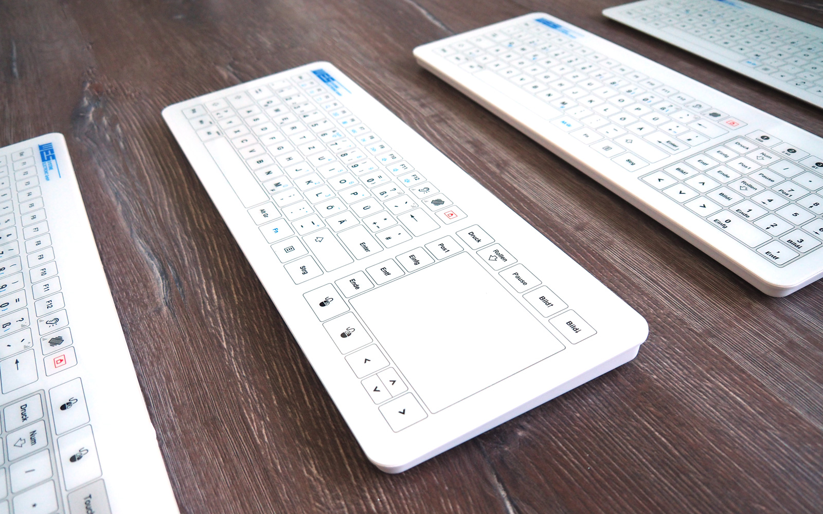 Hygiene keyboard from WES Systeme Electronic