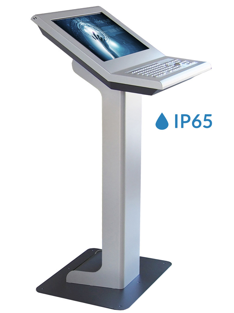 light pc stand M-22-T-IP65 mit 22