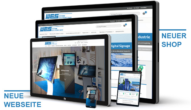 wes systeme electronic gmbh neue webseite onlineshop