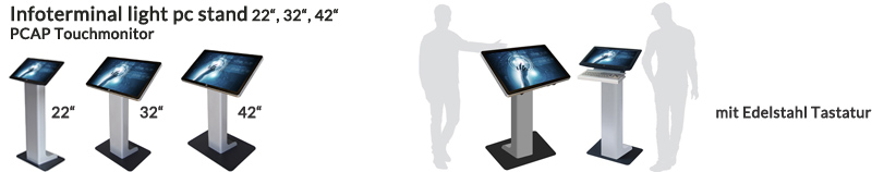 Infoterminal light pc stand 22 2
