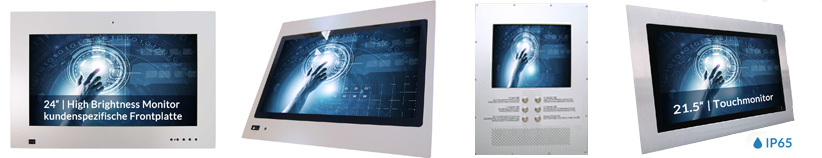 Hight Brightness Outdoor Open Frame Monitore