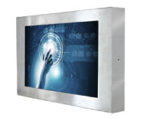 IP65 Industrie Monitore & Panel PC mit Touch