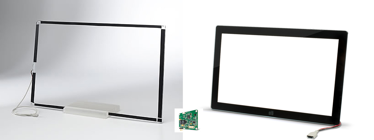 Touchscreen Sensoren Surface Acoustic Wave IntelliTouch