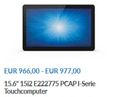 touchcomputer i serie elo touch solutions onlineshop